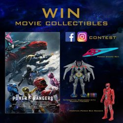 [Cathay Cineplexes] Go Go Power Rangers!