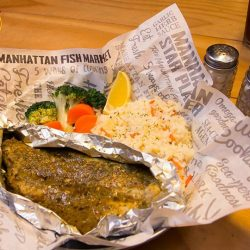[The Manhattan FISH MARKET Singapore] With an aromatic blend of herbs and spices, our Mediterranean Baked Dory is something you will love, especially when you