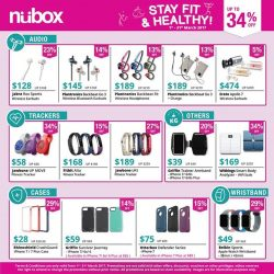 [Nübox] Stay Fit & Healthy with nübox, save up to 34% on premium fitness accessories brands like Fitbit, Jabra, Plantronics and