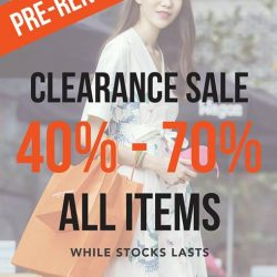 [Campo Marzio Singapore] Enjoy our ongoing PRE-RENOVATION SALES!