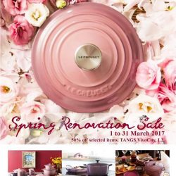 [Le Creuset] RENOVATING TO SERVE YOU BETTER!