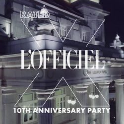 [Lamborghini] This year, L'Officiel Singapore turned the big 1-0 and in spectacular L'Off fashion, they marked the milestone