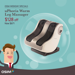 [OSIM] Sit back, relax and destress with these OSIM favourites!