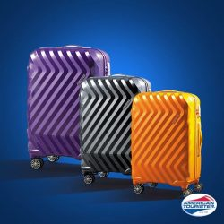 [American Tourister] Lightweight, versatile and on 20% discount, Zavis is the perfect beach bud for your next getaway!