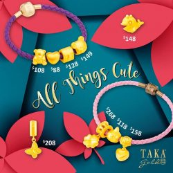 [Taka Jewellery Treasures] Endearing cuties to brighten up your week.