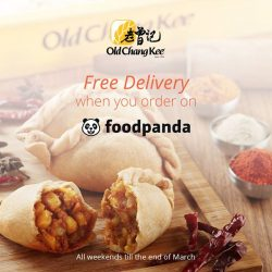 [Old Chang Kee Singapore] FREE DELIVERY when you order our Old Chang Kee food at Foodpanda platform.