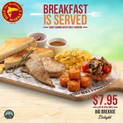 [The Manhattan FISH MARKET Singapore] Back by popular demand, our breakfast e-coupons are available till 7 May 2017!