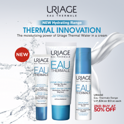 [Watsons Singapore] Discover the moisturizing power of Uriage Thermal Water in a cream!