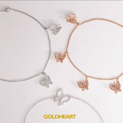 [Goldheart Jewelry Singapore] Spread your wings & flutter with joy.