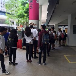 [Churros Factory Singapore] Thank you for the great support this lunch time over at ITE College West.