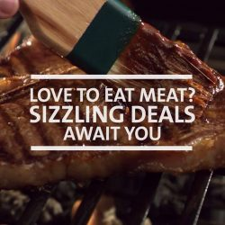[OCBC ATM] There are few pleasures in life greater than enjoying a sizzling plate of meat.