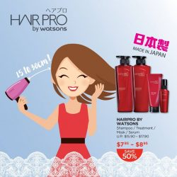 [Watsons Singapore] Damaged hair, dry strands and split ends used to be the price we paid for blow-drying our hair.