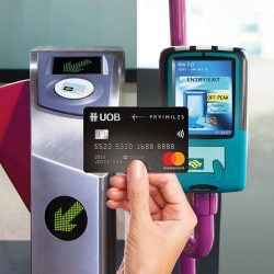 [UOB ATM] Register to be the first to tap and go for your bus and train rides with UOB Mastercard contactless cards.