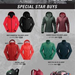 [Isetan] Catch great savings at The North Face End Season Sale happening at Isetan Scotts Level 3 Promotion Gallery from 10-