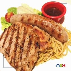 [NEX] We love our steaks & pasta - even better when our meal combines both!