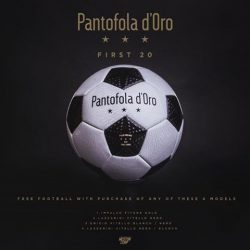 [WESTON CORP] We will be giving away free Pantofola Footballs for the first 20 customers who purchase any of these 4 models