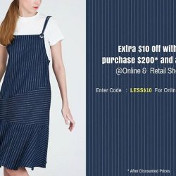 [MOSS] Extra $10 off with purchase $200* and above @Retail Shop & Online - www.