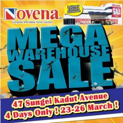 [Novena] MEGA WAREHOUSE SALE is BACK at our 47 Sungei Kadut showroom!