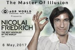 [SISTIC Singapore] Tickets for NICOLAI FRIEDRICH - THE BEST MENTALIST OF THE WORLD.
