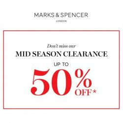 [Marks & Spencer] Don't leave the kids out of the Mid Season Clearance fun.