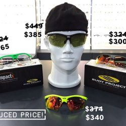 [SPORT ON Eyewear] New Markdowns on Rudy Project!
