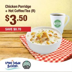 [Long John Silver's] Come along down to Long John Silvers to enjoy a limited time meal deal offer.
