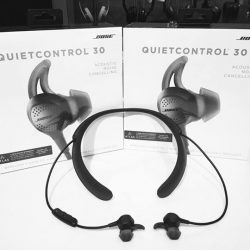 [Stereo] The new Bose's QuietControl 30 headphones are the company's first active noise-cancelling headphones that give you granular