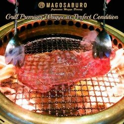 [Magosaburo] Select your favourite part of Premium Wagyu Beef and grill it as the BEST Condition!