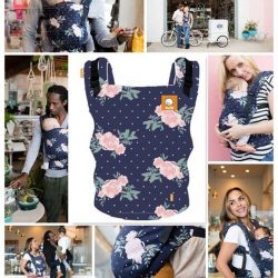 [Bumwear] Today, we are taking a closer look at the new Tula Free-to-Grow Baby Carrier prints: 'Blossom'.