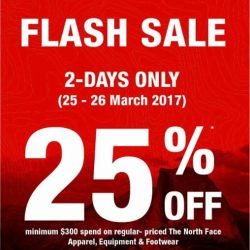 [The North Face] 2-day Flash Sale starting tomorrow!