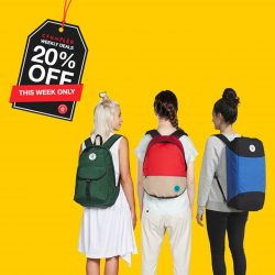 [Crumpler] THIS WEEK SPECIAL: 20% OFF on your favourite backpacks.