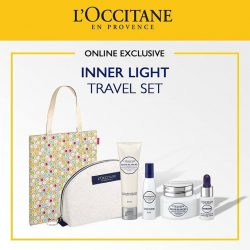 [L'Occitane] We only have limited stocks of our Inner Light Travel Set!
