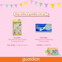 [Guardian] LAST 5 DAYS of the exclusive Guardian Online Baby Fair!