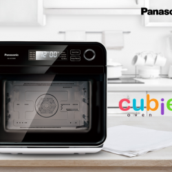[Panasonic] Its compact shape yet spacious cooking space makes Panasonic NU-SC100 Cubie Oven the ideal cooking companion that fits perfectly