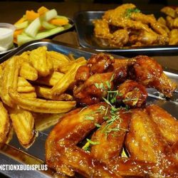 [Wing Zone Singapore] Check out our new menu (think your favorite flavors, fuzed with our awesome wings and juicy burgers).