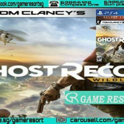 [GAME RESORT] PS4 Ghost Recon Wildlands Deluxe Edition, XB1 Ghost Recon Wildlands,Experience total freedom of choice in Tom Clancy's Ghost