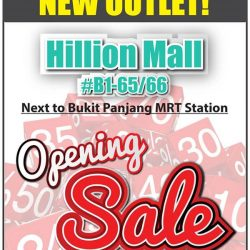[Best Denki] Visit our Opening Sale at Hillion Mall outlet, B1-65/66 (next to Bukit Panjang MRT Station)!
