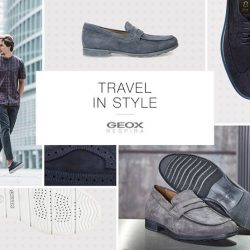 [GEOX] Style is a reflection of your personality, so perfect the journey with Geox's range of versatile and stylish shoes.