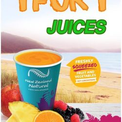 [New Zealand Natural Café] GET 2 FRESHLY SQUEEZED JUICES FOR THE PRICE OF 1!