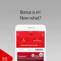[DBS Bank] Everybody loves that extra cash you get from your performance bonus.