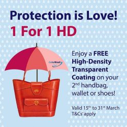 [ColorWash] Protect your love with our 1-FOR-1 HD Transparent Coating!