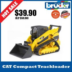[The Collector] School Holiday Promotion @ The Collector Bruder 02136 Cat Multi Terrain LoaderThe CATERPILLAR Multi terrain loader is truly multi-functional.