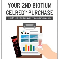 [SCIENCEWERKZ] For a limited time only: Get 40% off your 2nd Biotium Gelred™ purchase + free Norgen Biotek Ladder!