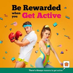 [7-Eleven Singapore] Staying active is more than just a choice, it's a lifestyle!