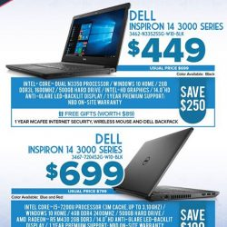 [Newstead Technologies] Visit booth 318 & 8241 @ IT Show to find best savings and attractive free gifts on latest Dell laptops & computers, 16-