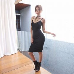[MDSCollections] Jenevive Dress in Black | Upcoming mdscollections Take 20% off sale items only at mdscollections.