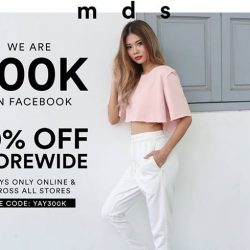 [MDSCollections] Take additional 30% off storewide with YAY300K from now till Thursday 2359.