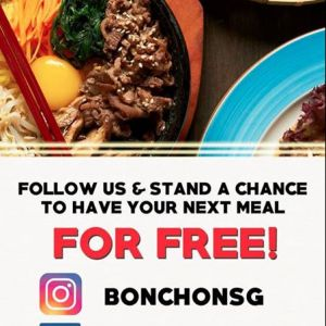 [Bonchon Singapore] Are you craving for a Korean feast?