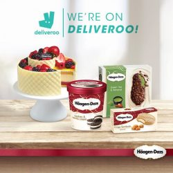 [Haagen-Dazs] We're on Deliveroo!