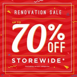 [Artbox Singapore] We are having a storewide renovation sale at our Junction 8 outlet.